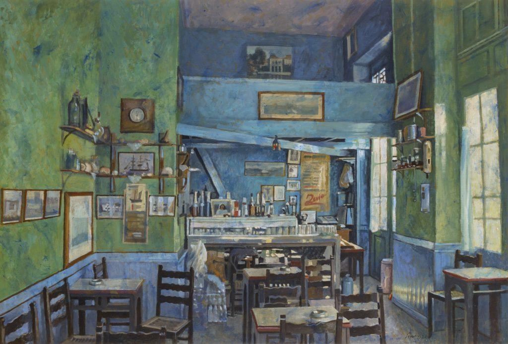 100×150, Cafe Aigina
